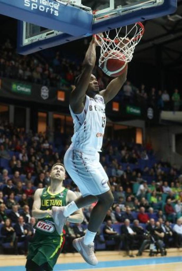 Euro de basket 2021 (m) - La Belgique commence les qualifications par un large succès sur la Lituanie