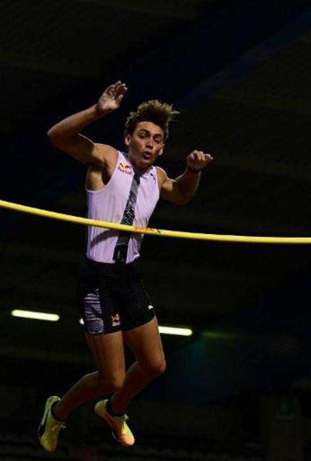 Memorial Van Damme - Polsstokspinger Duplantis pakt de zege met sprong over 6m, Broeders 2e