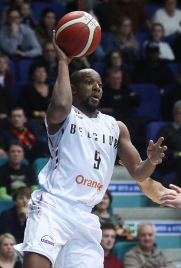 """Kwal. EK basket 2021 (m) - Jonathan Tabu: """"We hebben getoond dat we de beste ploeg waren"""""""