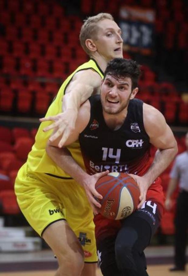 EuroMillions Basket League - Ruime zeges voor Oostende en Limburg United
