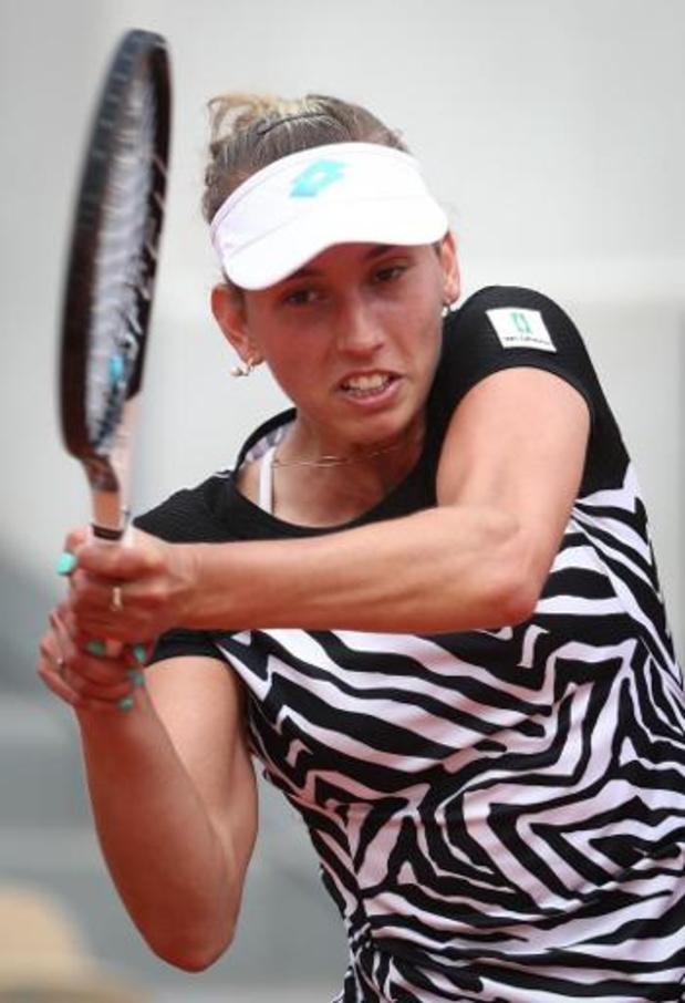 WTA Osaka - Elise Mertens contre la Lettone Sevastova, 18e mondiale, au premier tour