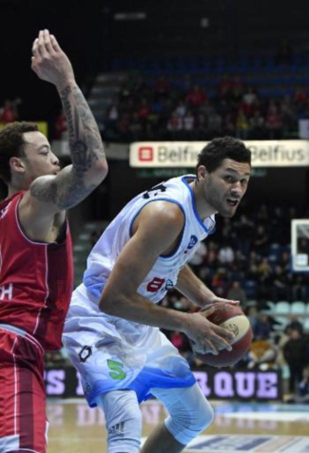 Euromillions Basket League - Bergen wint topper tegen Antwerp