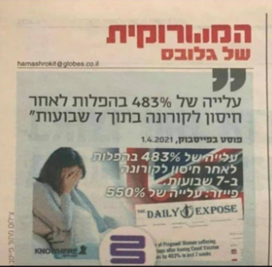 Factcheck: nee, er zijn geen '483 procent meer' miskramen in Israël