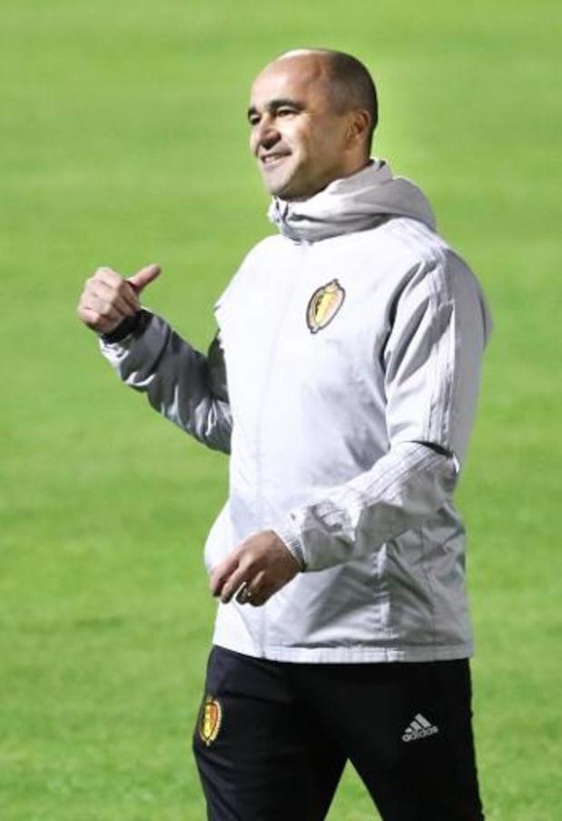 De nombreuses incertitudes pour Roberto Martinez pour la première sélection de l'année
