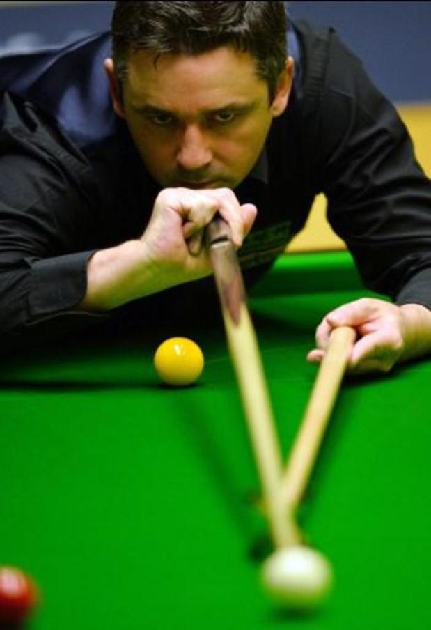 WK snooker - Schot Alan McManus beëindigt snookerloopbaan