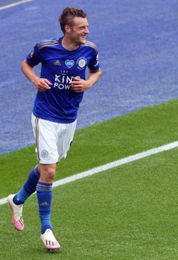 Jamie Vardy prolonge jusqu'en 2023 à Leicester
