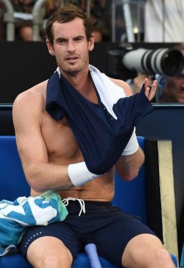 Andy Murray de retour en Grand Chelem à Melbourne, qui espère Kim Clijsters