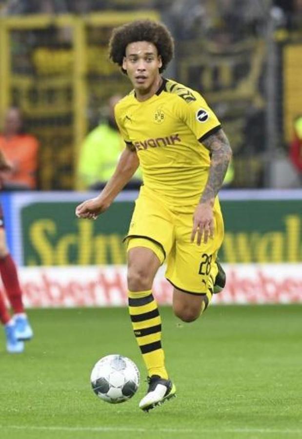 Les Belges à l'étranger - Thorgan Hazard donneur d'assist et Axel Witsel buteur avec Dortmund