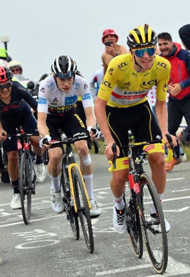 """Pogacar wint voor het eerst in gele trui: """"Onbeschrijfelijk"""""""