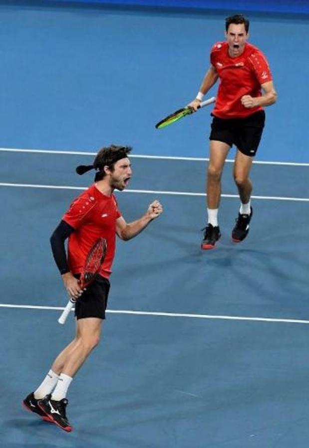 """US Open - Gillé en Vliegen kloppen tweede reekshoofd: """"Onze beste match van het jaar"""""""