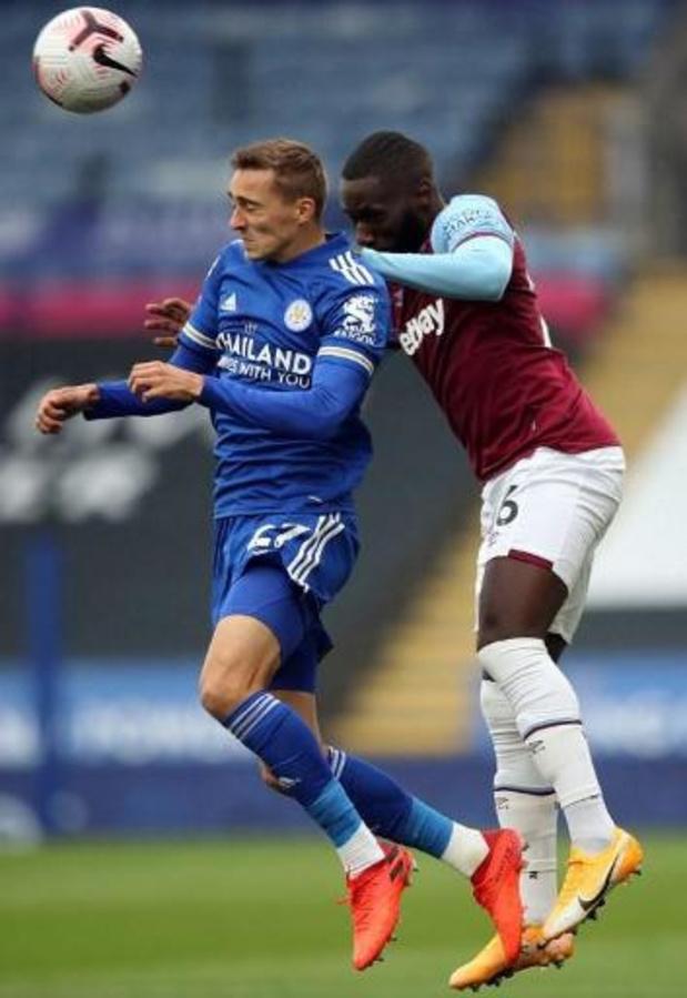 Castagne en Tielemans lijden met Leicester eerste nederlaag tegen West Ham