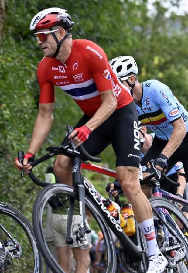 Kristoffer Halvorsen remporte la 3e étape, Peter Sagan prend la tête du général