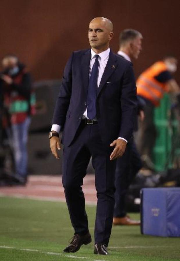 """Diables Rouges - Roberto Martinez a apprécié """"la concentration"""" de ses joueurs"""