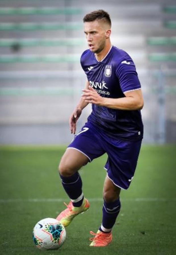 Le Serbe Luka Adzic de nouveau prêté à Emmen par Anderlecht