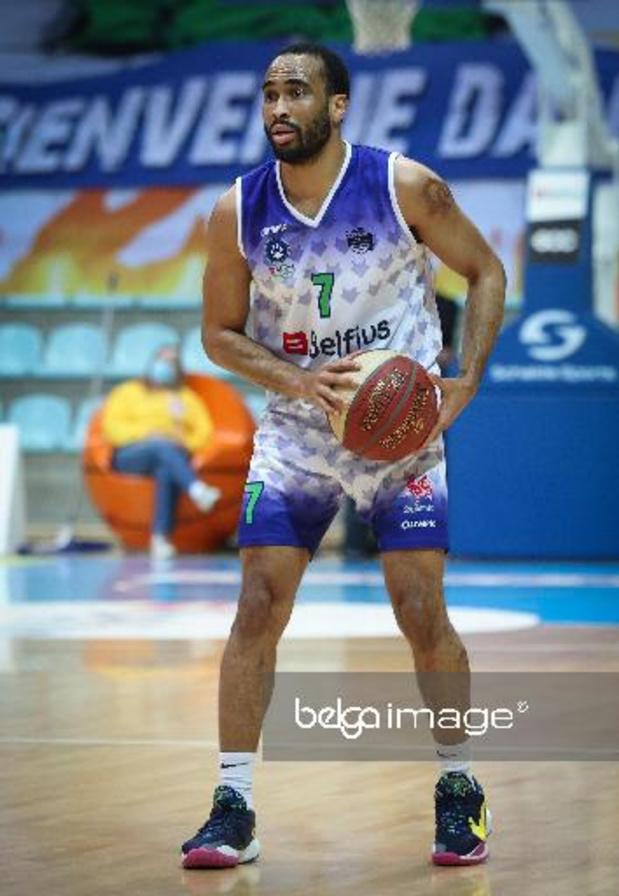 Euromillions Basket League - Mons s'impose face au Brussels et rejoint Anvers en tête du classement