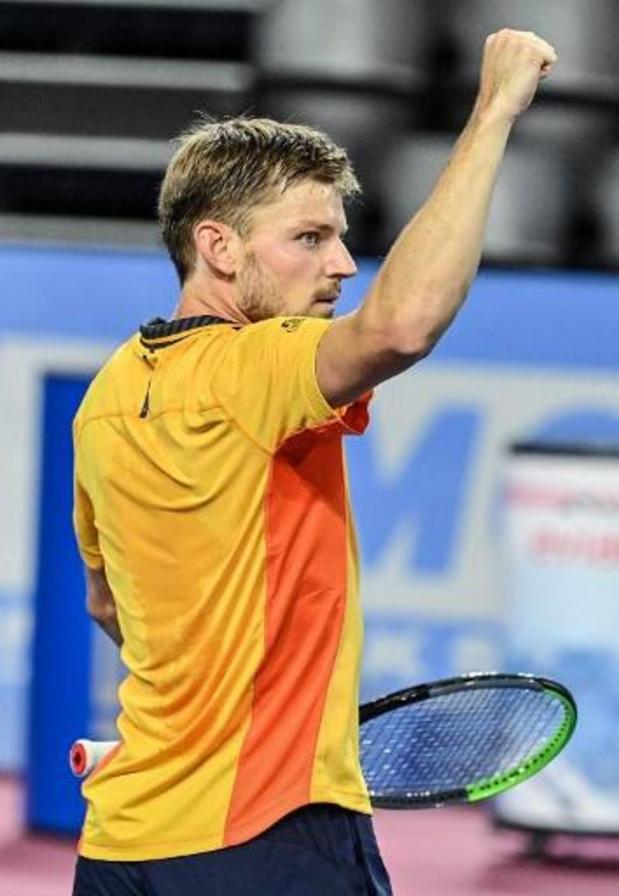 ATP Montpellier - David Goffin offre à la Belgique un 15e titre sur le circuit ATP