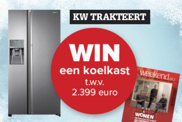 WIN een Amerikaanse koelkast t.w.v. 2.399 euro