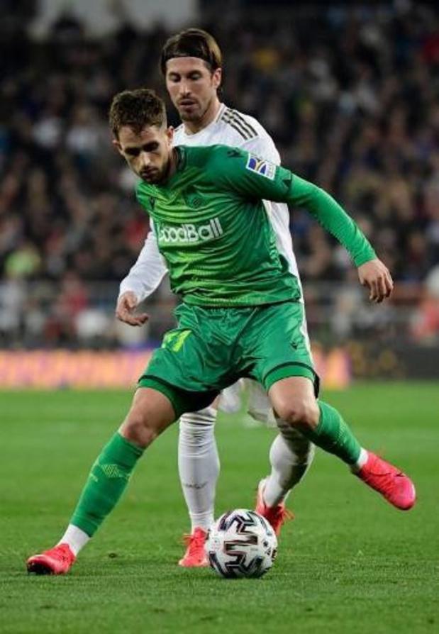 Les Belges à l'étranger - Adnan Januzaj buteur de la Real Sociedad qui passe à la 3e place de la Liga