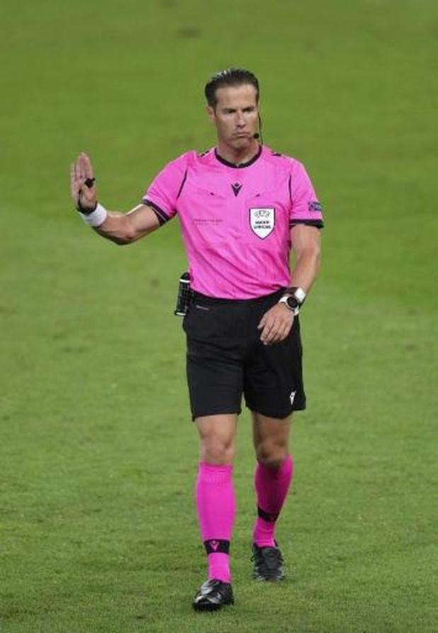 Le Néerlandais Danny Makkelie arbitre de Belgique/Angleterre