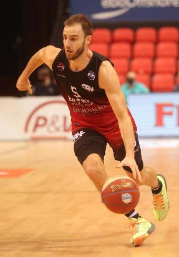 Euromillions Basket League - Le Spirou Charleroi s'impose à Malines