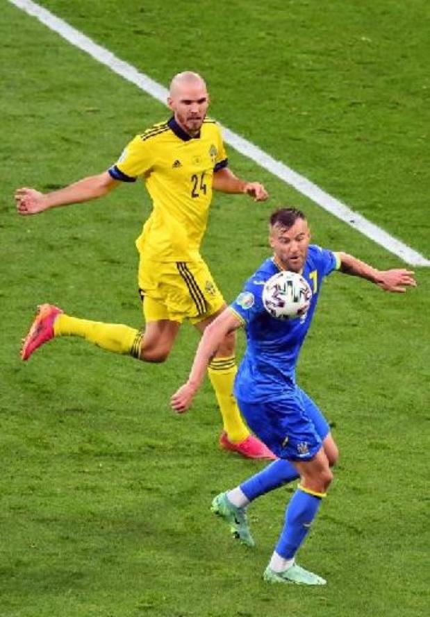Euro 2020 - Prolongations à Suède - Ukraine