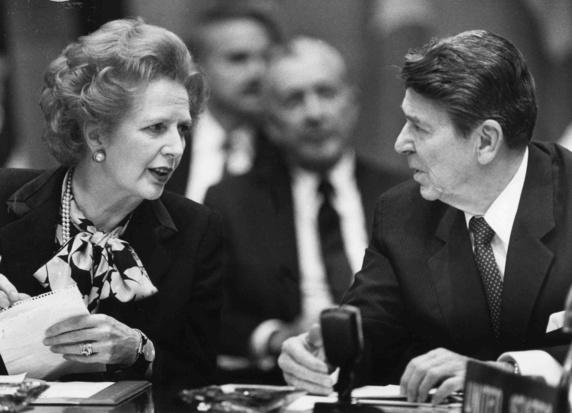 'Het einde van de Thatcher-Reaganrevolutie'