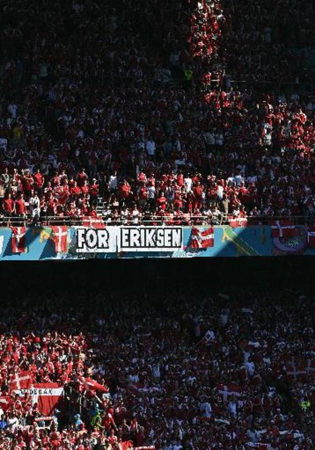 Les Diables Rouges ont offert un maillot signé à Eriksen