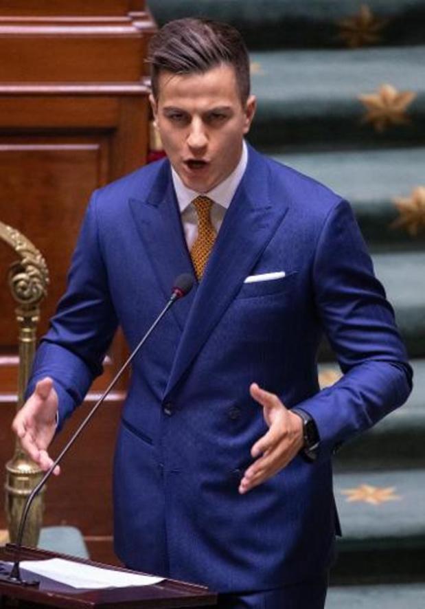 Dries Van Langenhove gehoord in Commissie Vervolgingen van de Kamer