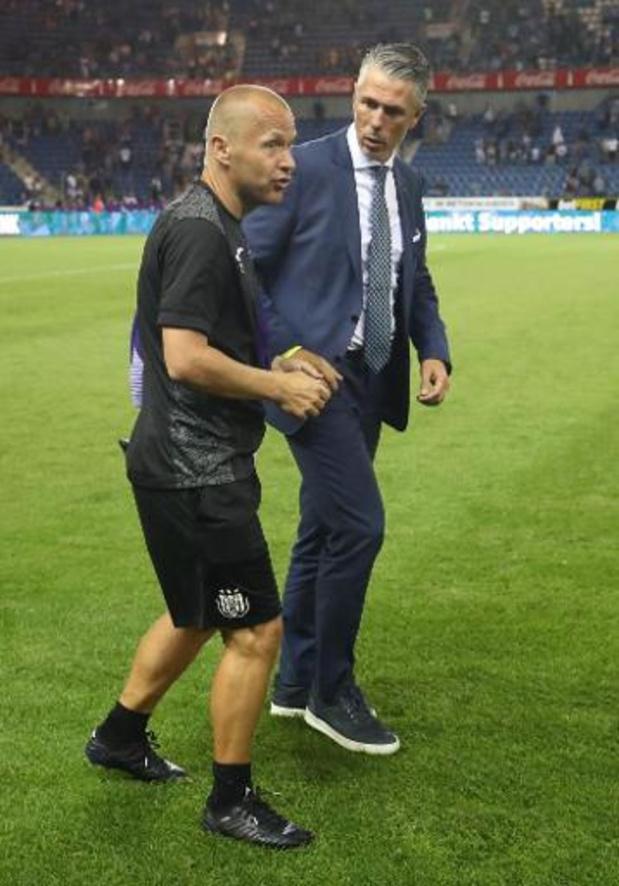 Jupiler Pro League - RSC Anderlecht ontslaat Pär Zetterberg om financiële redenen