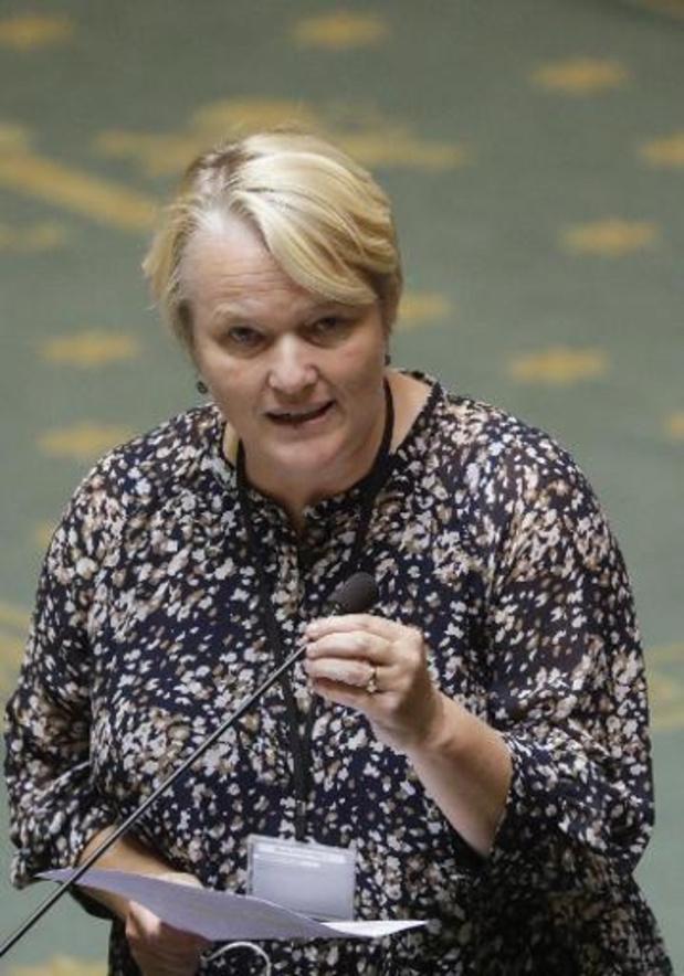 L'ex-ministre Nathalie Muylle (CD&V) aurait aimé être avertie personnellement