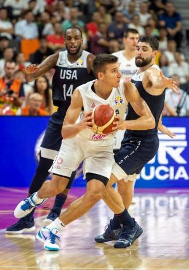 Deuxième flop des Américains, dominés par la Serbie en match de classement