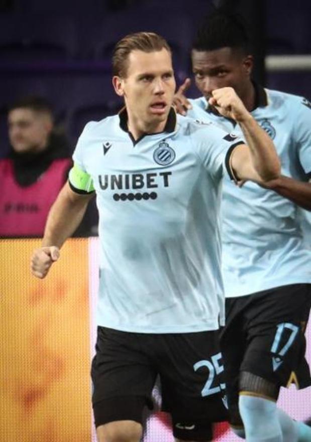 Croky Cup - Club Brugge stoot door naar halve finales na 0-2 zege bij Anderlecht
