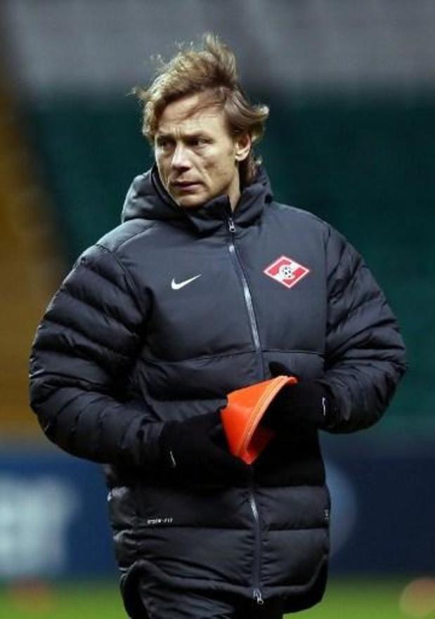 Valeri Karpin is nieuwe bondscoach van Rusland na tegenvallend EK