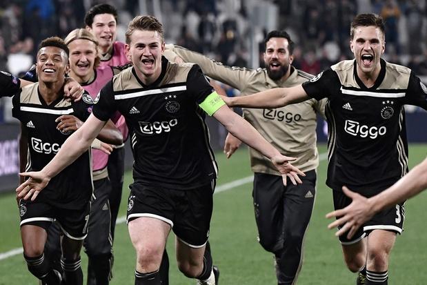 Ajax stunt met zege tegen Juventus en staat na 22 jaar weer in halve finale Champions League