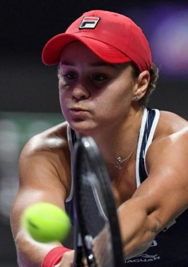 Masters WTA - La numéro un mondiale Ashleigh Barty contre la tenante du titre Elina Svitolina en finale
