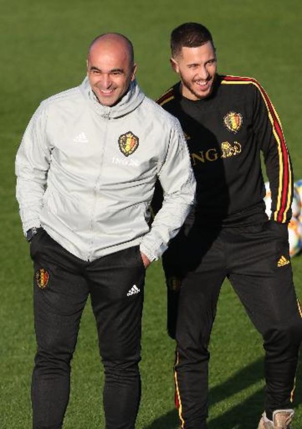 """Martinez denkt aan speelminuten voor Hazard in oefeninterlands: """"Hij oogt fris"""""""
