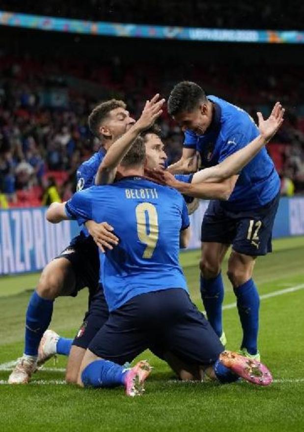 Euro 2020 - L'Italie se défait de l'Autriche au terme des prolongations (2-1) et rejoint les quarts