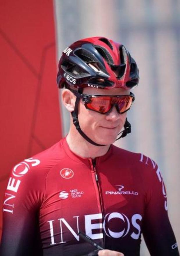 """Tour d'Espagne - Chris Froome a vécu """"une histoire d'amour"""" avec Ineos"""