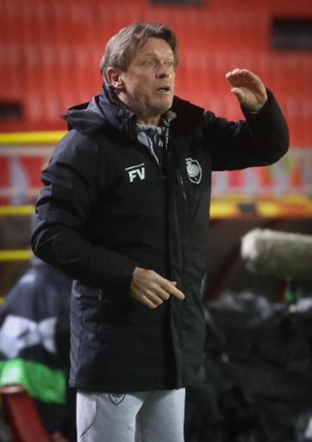 """Europa League - Franky Vercauteren déçu après la défaite: """"Nous avons concédé trop d'occasions"""""""