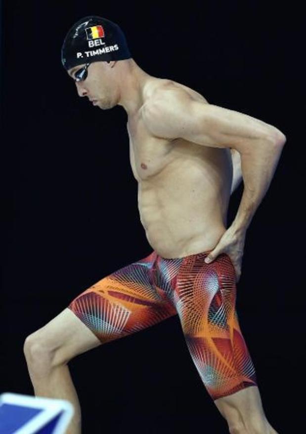 Pieter Timmers 3e du 100 m libre à Pékin en 48.99