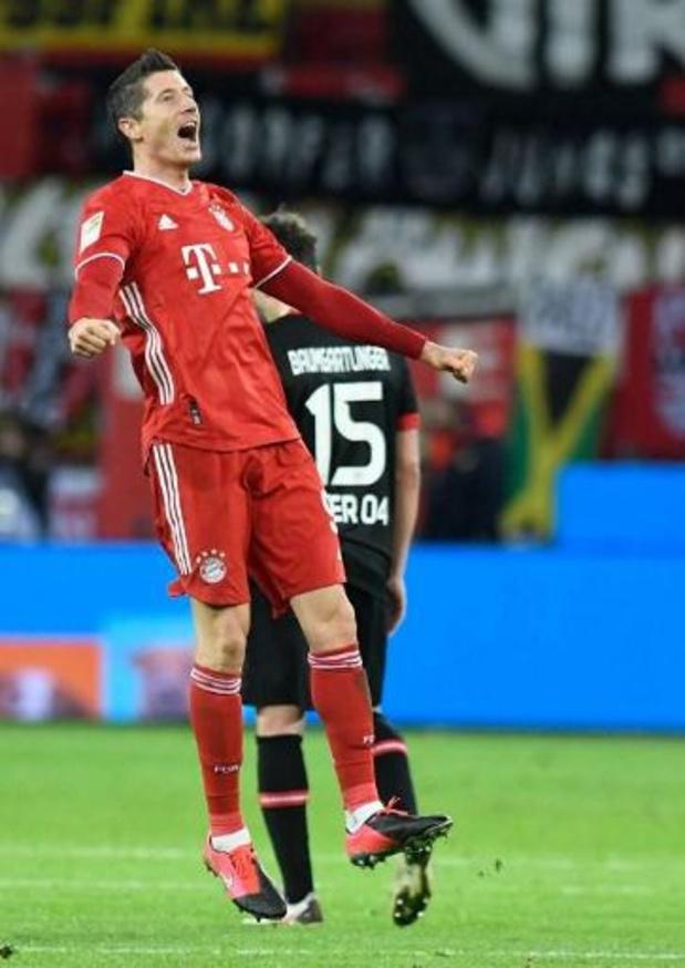 Bundesliga - Le Bayern boucle l'année 2020 en tant que leader grâce à sa victoire à Leverkusen