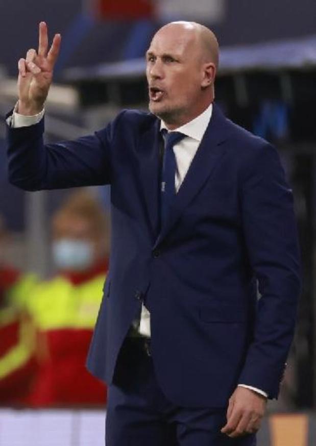"""""""Bruges a gagné la 1re mi-temps avec son foot et la 2e avec la solidarité"""", résume Clement"""