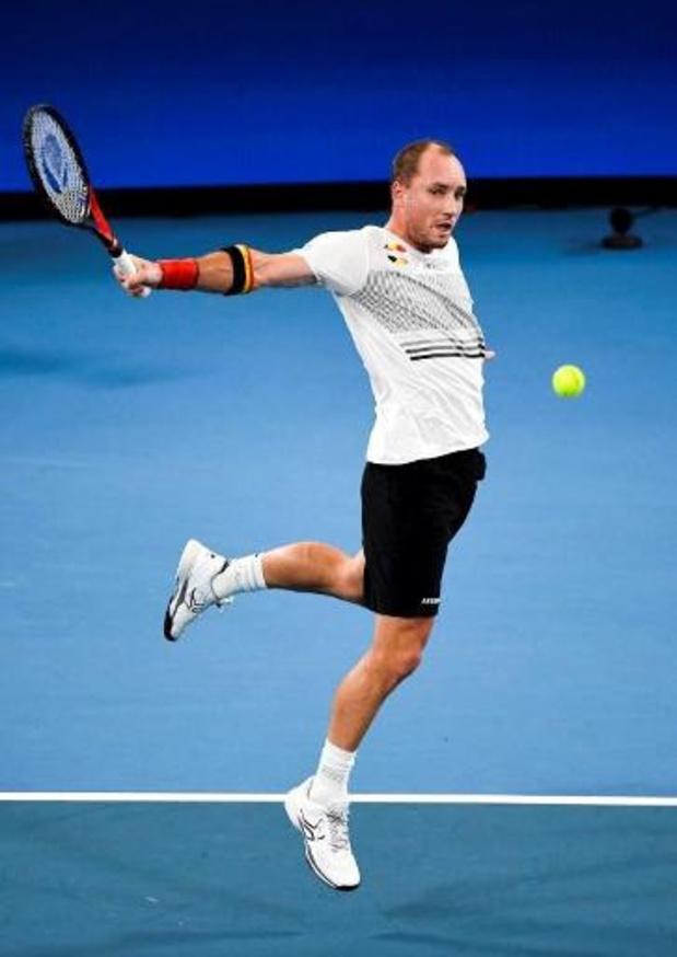 Les matches de Steve Darcis et Greet Minnen reportés à jeudi à l'Open d'Australie