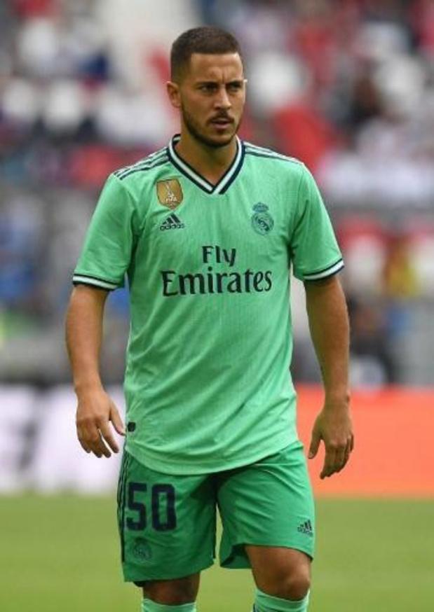 Eden Hazard est prêt pour faire ses débuts avec le Real samedi, selon Zidane