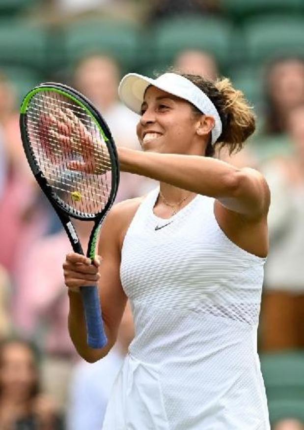 """Wimbledon - Keys après sa victoire contre Mertens: """"J'ai livré un match de très haut niveau"""""""