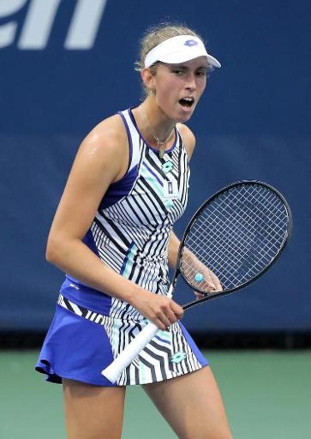 """WTA Rome - Mertens, qui a battu Hsieh : """"J'ai dû ramer avec les moyens du bord"""""""