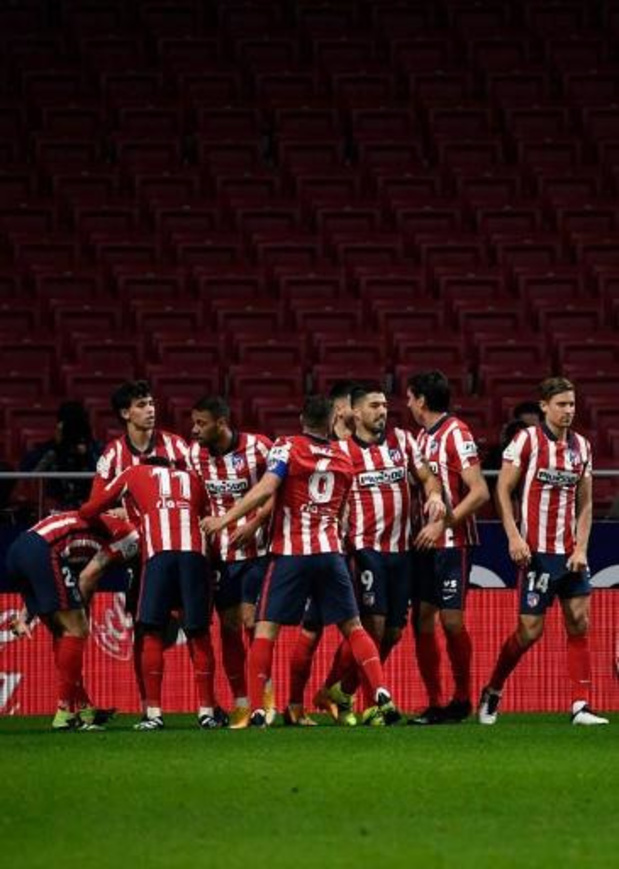 Belgen in het buitenland - Carrasco blijft leider met Atletico Madrid na 3-1 zege tegen Valencia