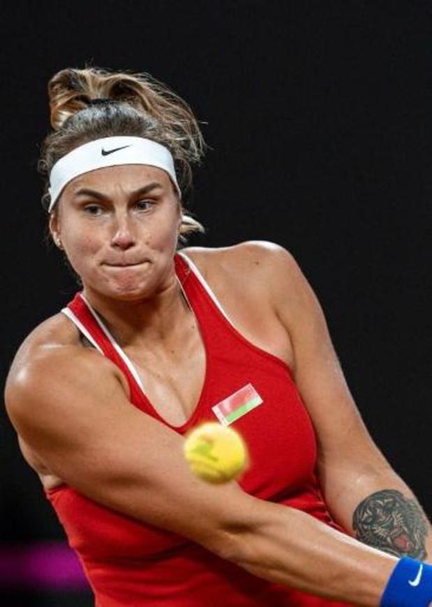 WTA Dubai - Elise Mertens in achtste finale tegen dubbelpartner Aryna Sabalenka