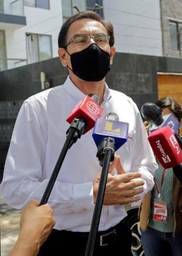 Pérou: le président destitué Vizcarra briguera un mandat de député