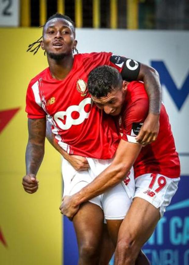 Jupiler Pro League - Mené au score, le Standard s'impose 1-2 à Waasland-Beveren et rejoint les leaders